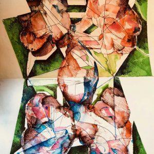 Figurative Biomorphic Image